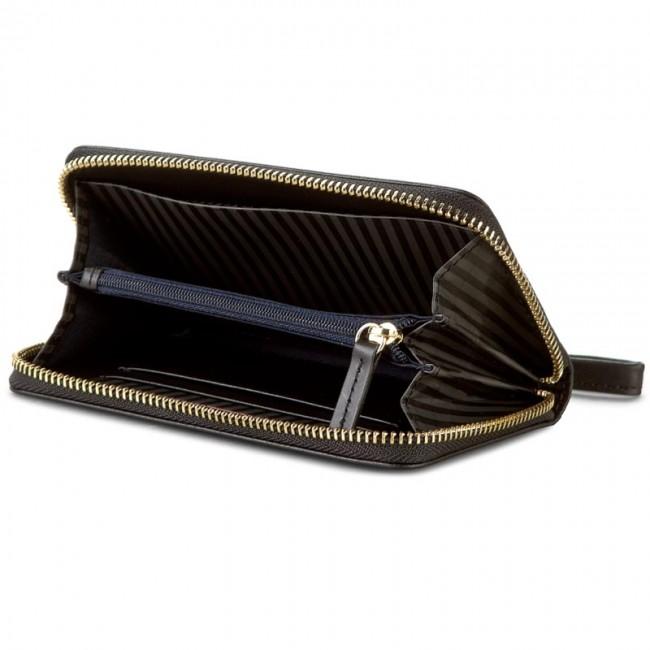 a13c15c651f Veľká Peňaženka Dámska TOMMY HILFIGER - Smooth Leather Med Slim Z A Wallet  AW0AW03075 002