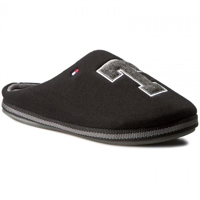 819b9c3447 Papuče TOMMY HILFIGER - Cornwall 1D FM56822117 Black 990 - Papuče ...