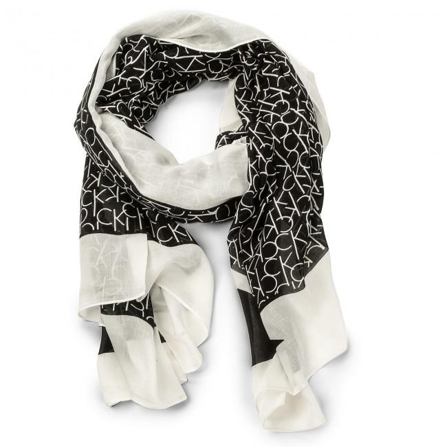 Šál CALVIN KLEIN - Ck Allover Scarf K60K604136 001 - Šále - Textil ... daddb213ce