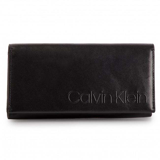 Veľká Peňaženka Dámska CALVIN KLEIN - Cube Med Wallet W Zip K60K605092 001 a49492a4815