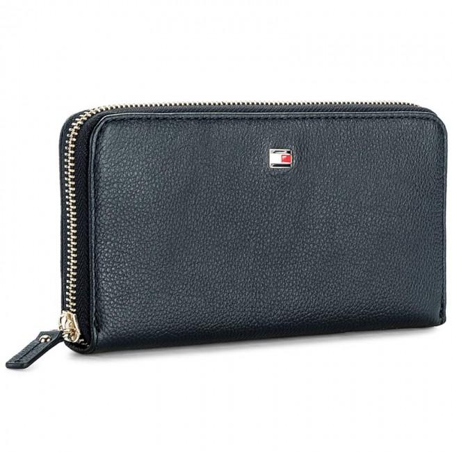b2c6f6c2ca Veľká Peňaženka Dámska TOMMY HILFIGER - Basic Leather Large Za Wallet  AW0AW04283 413