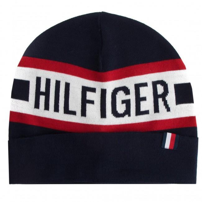 Čiapka TOMMY HILFIGER - Knit Beanie AM0AM04306 901 - Pánske - Čiapky ... d650afa32bd