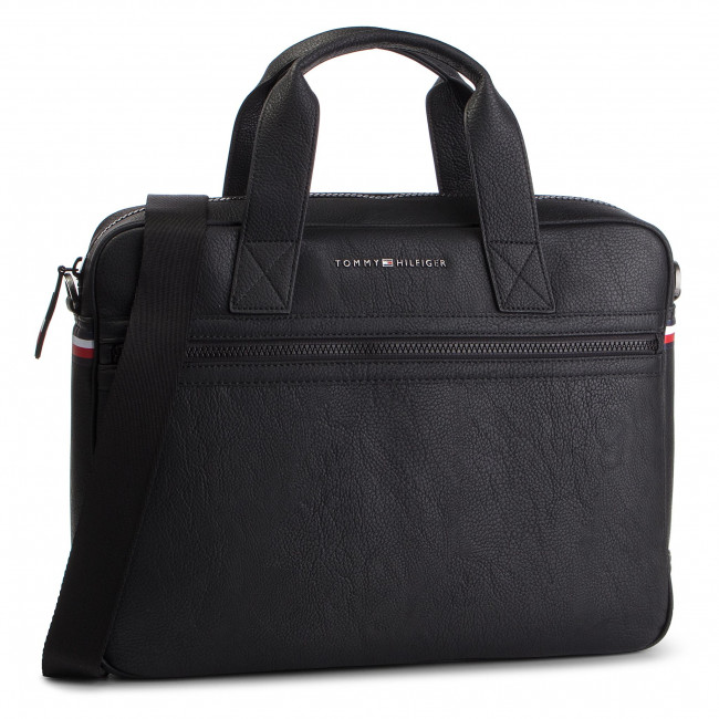 8f999460bb Taška na Laptop TOMMY HILFIGER - Essntial Computer Bag AM0AM04621 ...