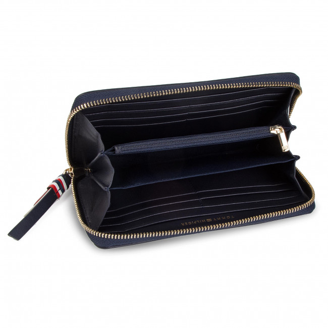 375057ca43 Veľká Peňaženka Dámska TOMMY HILFIGER - Classic Leather Large Za AW0AW06503  413