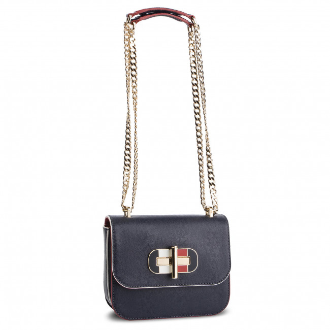 Kabelka TOMMY HILFIGER - Turnlock Mini Crossover AW0AW06441 413 ... 45f4102e71e