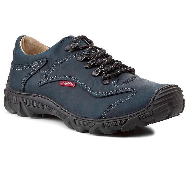 82eaf37f9e Trekingová obuv NAGABA - 400 Granat P - Outdoorové topánky ...