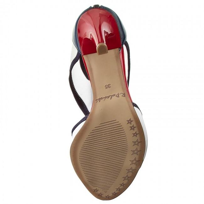 0a4902fad9e39 Sandále R.POLAŃSKI - 722 Marynarski - Elegantné sandále - Sandále - Šľapky  a sandále - Dámske - eobuv.sk