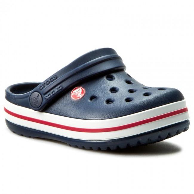 Šľapky CROCS - Crocband Kids 10998 Navy - Šľapky - Šľapky a sandále ... 11f0936ccb4