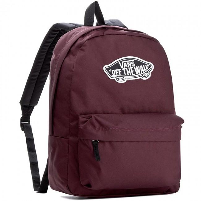 6adb21e66f Ruksak VANS - Realm Backpack VN000NZ04QU Bordová - Športové tašky a ...
