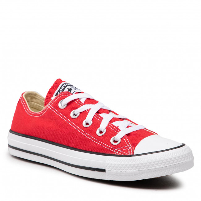 Tramky CONVERSE - All Star Ox M9696C Red