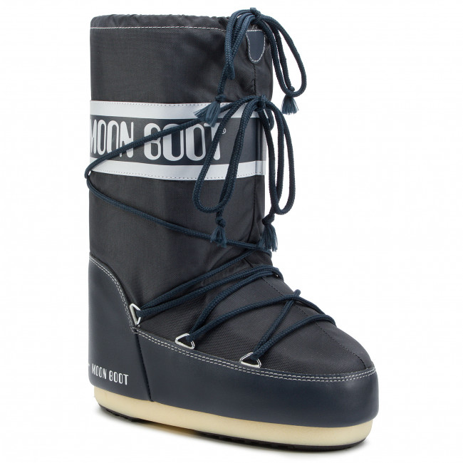2179fbc16c153 Snehule MOON BOOT - Nylon 14004400064 Denim Blue M - Outdoorová obuv -  Čižmy a iné - Diavča - Detské - eobuv.sk