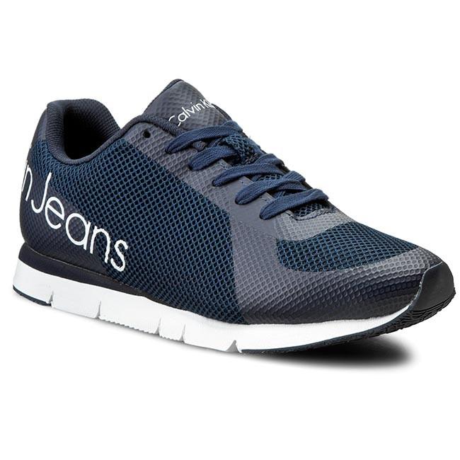 Sneakersy CALVIN KLEIN JEANS - Jack SE8526 Navy
