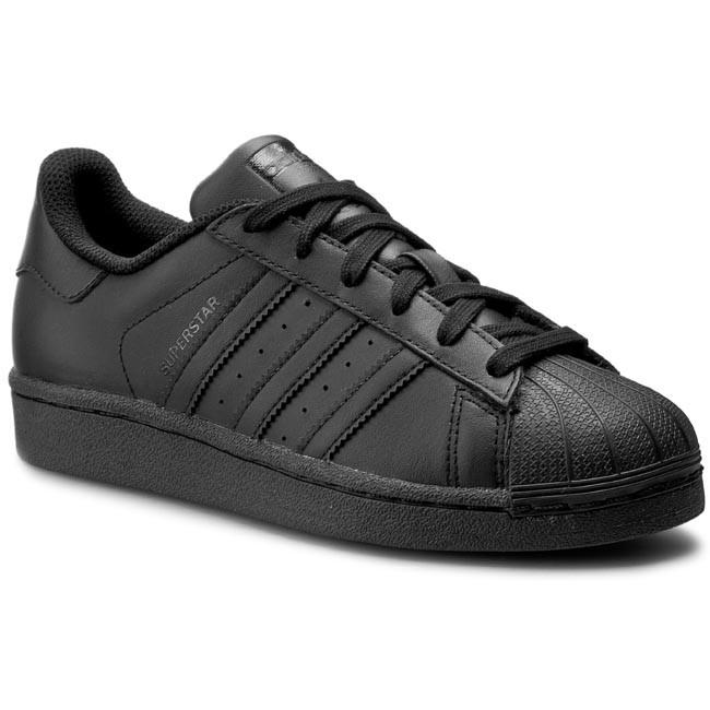 066445c1080b9 Topánky adidas - Superstar Foundation J B25724 Cblack - Sneakersy ...