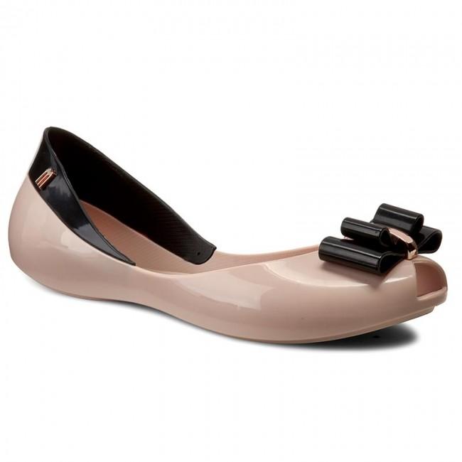 Baleríny MELISSA - Queen V Ad 31818 Pink/Black 52807