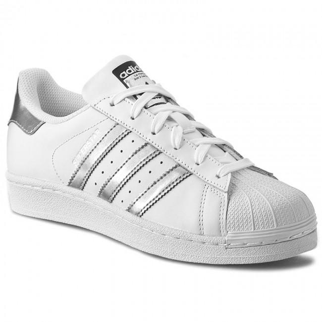 4a00a84a292a6 Topánky adidas - Superstar AQ3091 Ftwwht/Silvmt/Cblack - Sneakersy ...