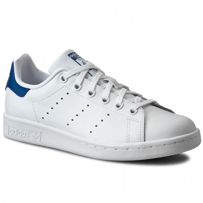 Topánky adidas - Stan Smith J S74778 Ftwwht/Ftwwht/Eqtblu