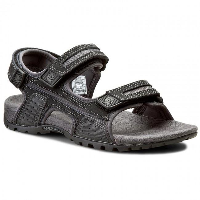 Sandále MERRELL - Sandspur Oak J276754C Black/Granite