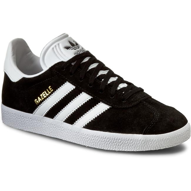 Topánky adidas - Gazelle BB5476 Cblack/White/Goldmt
