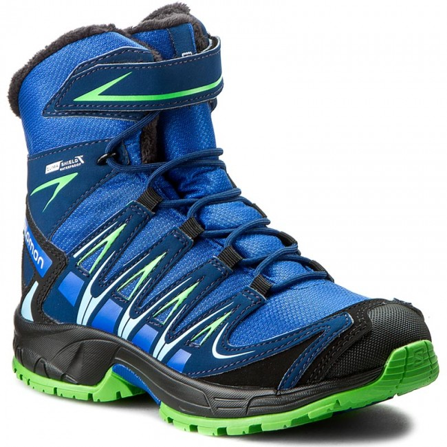e72328960 Outdoorová obuv SALOMON - Xa Pro 3D Winter Ts Cswp J 390290 09 M0 Blue  Yonder