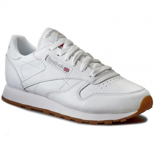 Topánky Reebok - Cl Lthr 49803 White/Gum
