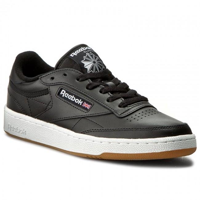 Topánky Reebok - Club C 85 AR0458 Black/White/Gum