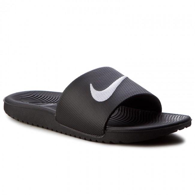 e0d6183e743d2 Šľapky NIKE - Kawa Slide (GS/PS) 819352 001 Black/White - Šľapky každodenné  - Šľapky - Šľapky a sandále - Dámske - eobuv.sk