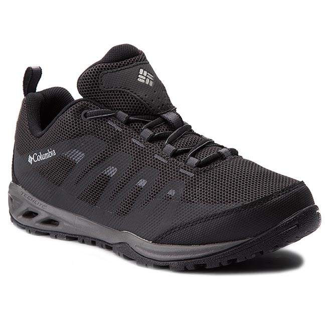 Trekingová obuv COLUMBIA - Vapor Vent BM4524 Black/White 010