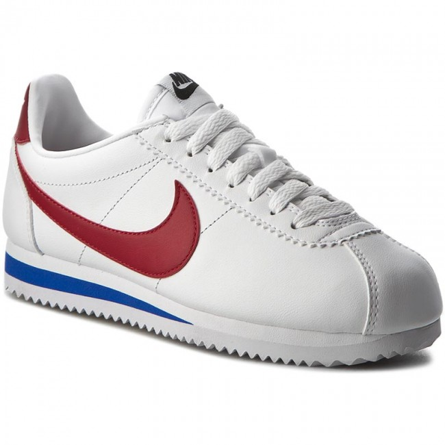 Topánky NIKE - Classic Cortez Leather 807471 103 White/Varsity Red