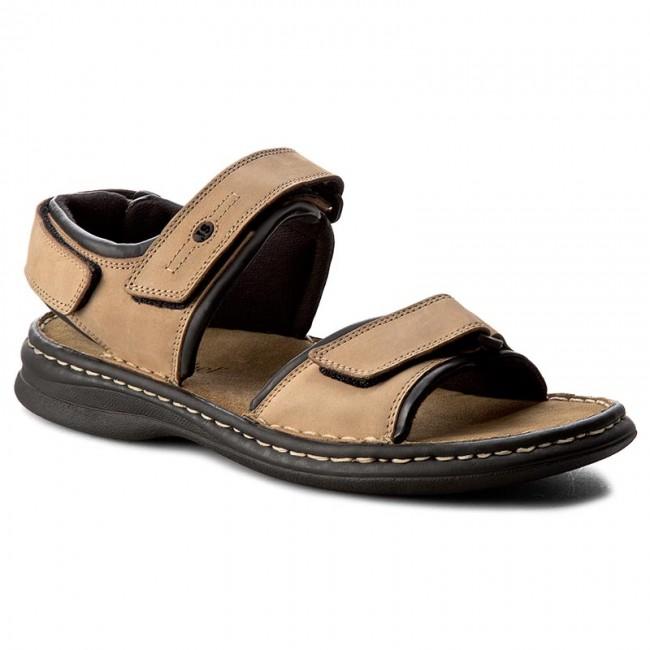 Sandále JOSEF SEIBEL - Rafe 10104 11 121 Stone/Schwarz