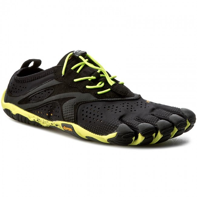Topánky VIBRAM FIVEFINGERS - V-Run 16M3101  Black/Yellow