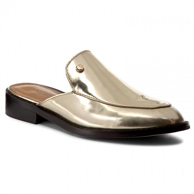 Šľapky KAZAR - Metisa 28826-01-13 Zlatá