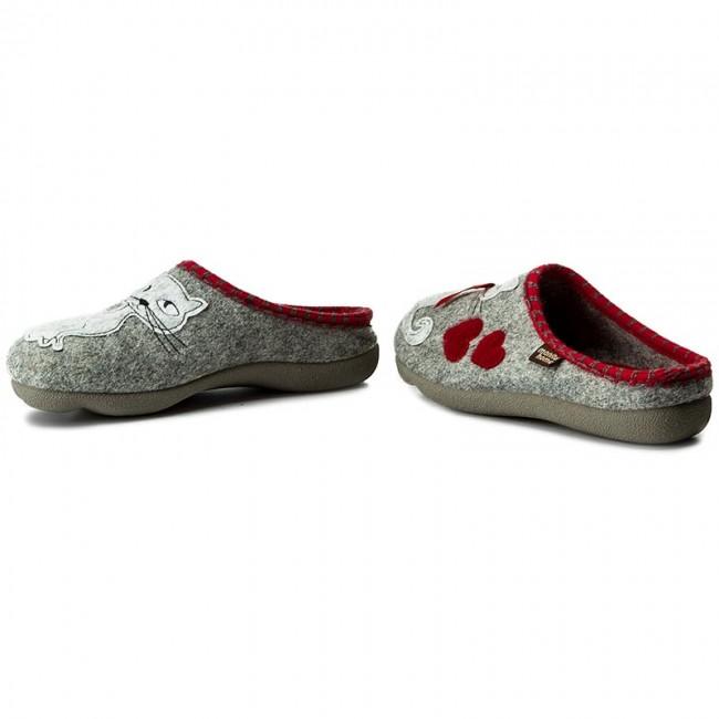 3d61c1566b624 Papuče MANITU - 320515 Hellgrau 91 - Papuče - Šľapky a sandále ...