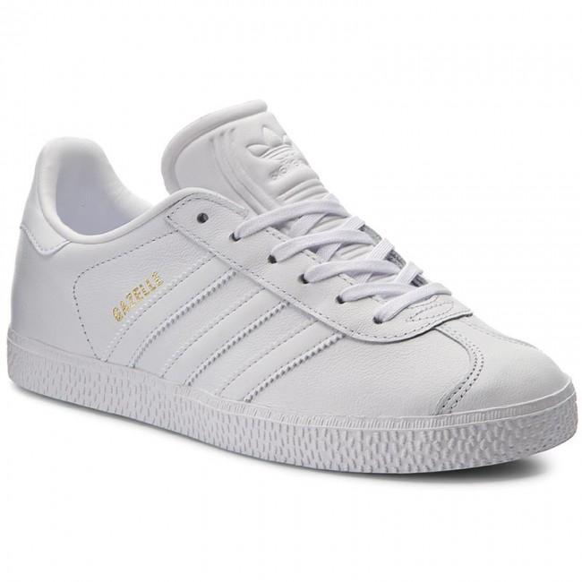 Topánky adidas - Gazelle J BY9147 Ftwht/Ftwht/Ftwht