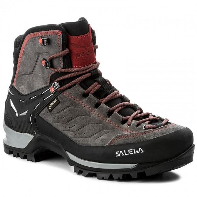 Trekingová obuv SALEWA - Mtn Trainer Mid Gtx GORE-TEX 63458-4720 Charcoal/Papavero 4720