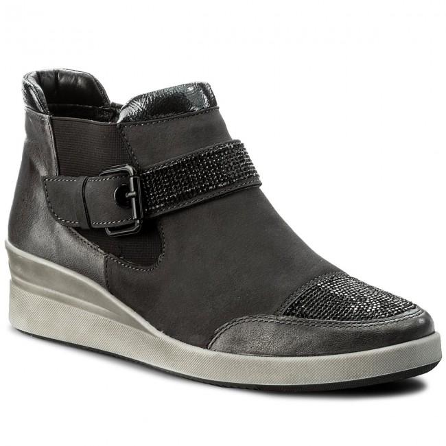 d44c51035a68e Členková obuv ARA - 12-43330 Crow/Grey - Kotníková obuv - Čižmy a iné -  Dámske - eobuv.sk