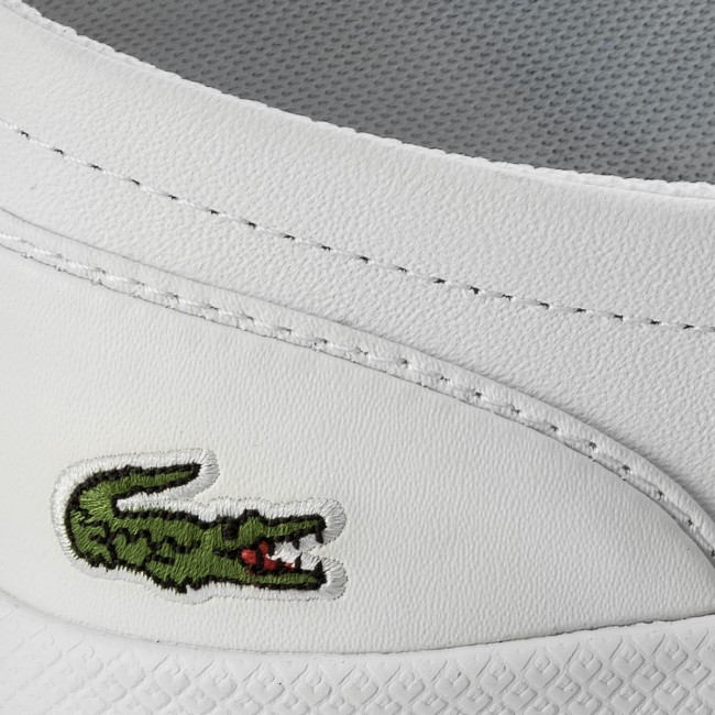 68ded4eed0ed3 Tenisky LACOSTE - Lancelle Bl 1 Spw 7-32SPW0135001 Wht - Plátenky a ...