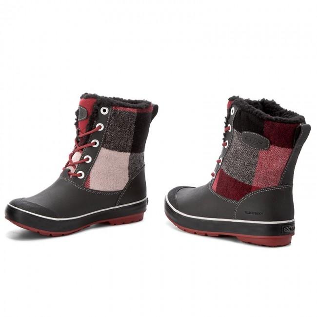 83efb0fd8b9b7 Snehule KEEN - Elsa Boot Wp 1017956 Black/Red Dalhia - Snehule ...