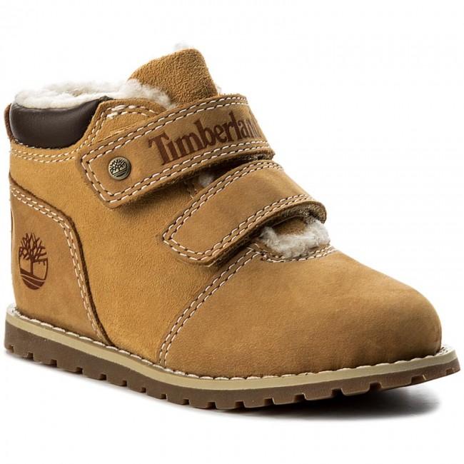 a1af6d01d8ef0 Outdoorová obuv TIMBERLAND - Pokey Pine Warm Line A1NQ3 Wheat - Topánky -  Čižmy a iné - Diavča - Detské - eobuv.sk