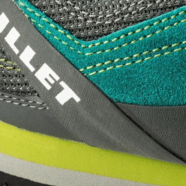 ee81e195ece9e Trekingová obuv MILLET - Rockway MIG1352 Dynasty Green/Asphalte 7658 ...