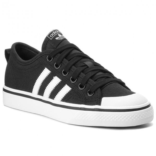 Topánky adidas - Nizza CQ2332 Cblack/Ftwwht/Ftwwht