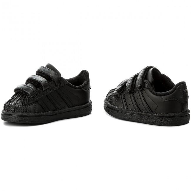 173909df4dfcf Topánky adidas - Superstar Cf I BZ0417 Cblack/Cblack/Cblack - Na ...