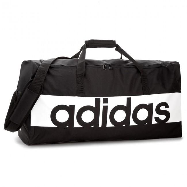 92b415b1ff0be Taška adidas - Lin Per Tb L S99964 Black/White/White - Cestovné - Doplnky -  eobuv.sk