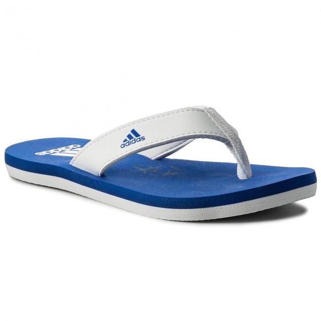 Žabky adidas - Beach Thong 2 K CP9378 Ftwwht/Hirblu/Ftwwht