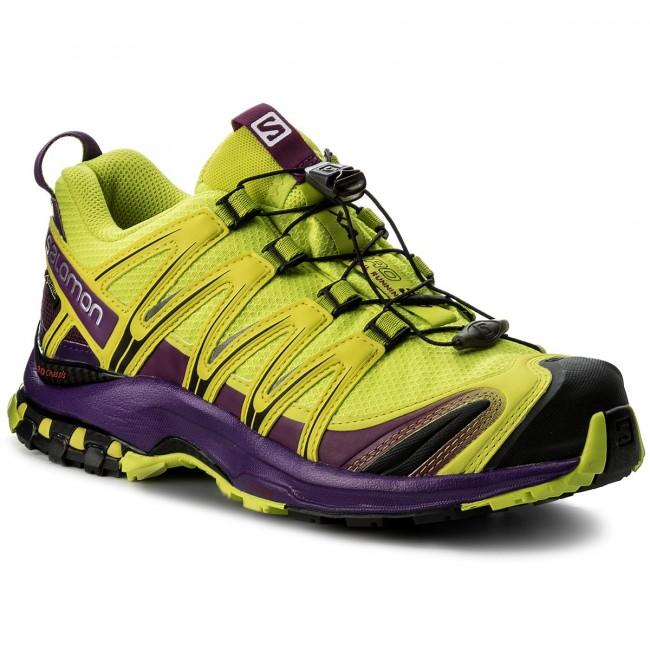 f6513eca5 Topánky SALOMON - Xa Pro 3D Gtx GORE-TEX 393330 22 V0 Lime - Trekingová obuv  - Bežecká obuv - Športové - Dámske - eobuv.sk