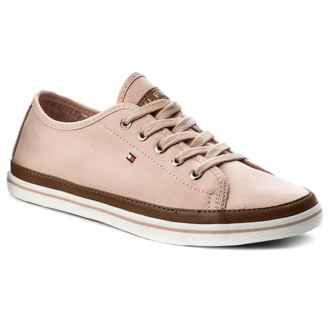 Tenisky TOMMY HILFIGER - Iconic Kesha Sneaker FW0FW02823 Dusty Rose 502