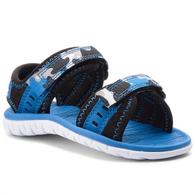 Sandále CLARKS - Surfing Wave 261313606  Blue Combi