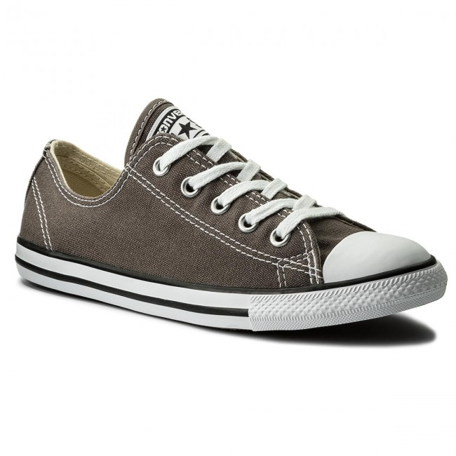 Tramky CONVERSE - Ctas Dainty Ox 532353C Charcoal