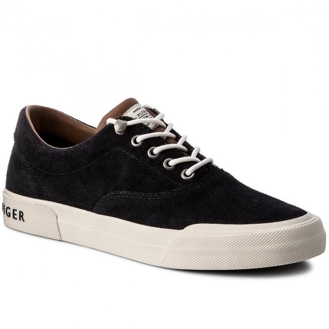 321cb5b72dbf0 Tenisky TOMMY HILFIGER - Heritage Suede Sneaker FM0FM00592 Midnight 403 -  Plátenky a tenisky - Poltopánky - Pánske - eobuv.sk