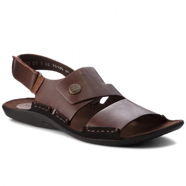 Sandále NIK - 06-0227-01-7-02-02 Hnedá