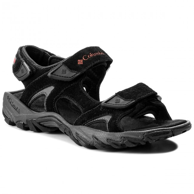 Sandále COLUMBIA - Santiam 3 Strap BM4625 Black/Mountain Red 010